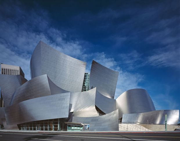 If really weird architecture is the mark of aliens, someone should probably study Frank Gehry since clearly no human could come up with such strange shapes on their own.