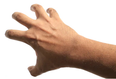 male-hand-claw